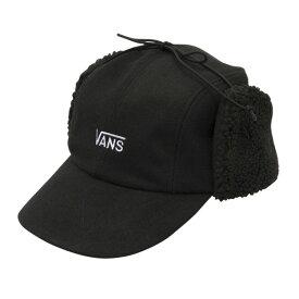 【VANSウェア】VANS Wool Ear Flap Cap ヴァンズ キャップ CD19FW-MA01 BLACK