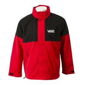 【VANSウェア】Mountain Jacket in hood ヴァンズ ジャケット VA19FW-GJ04 RED