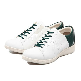 【TEXCY】 テクシー LACE-UP CASUAL SNEAKER レースアップ カジュアル スニーカー TL-17340 WHITE GREEN