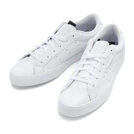 【adidas】 アディダス adidasSLEEK W スリーク EH2655 WHT/WHT/BLK