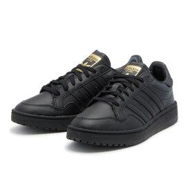 レディース 【adidas】 アディダス TEAM COURT J チームコート EF6808 ABC-MART限定 *BLK/BLK/WHT