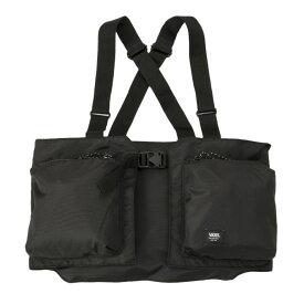 【VANSウェア】Vest Style Body Bag ヴァンズ ベストスタイルボディバッグ CD19FW-MB03 BLACK