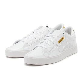 【adidas】 アディダス adidas SLEEK W スリーク FV3395 WHT/WHT/GLD