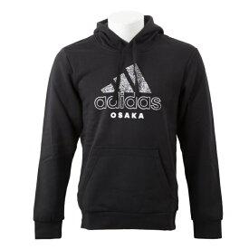 【adidas ウェア】 アディダス M KC Hoodie OSK BC 大阪 スクロール パーカー GK4669 BLK