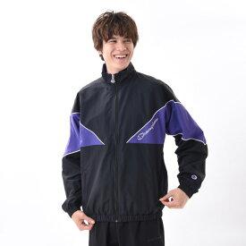 【CHAMPION】 チャンピオン M キリカエ ナイロンFZ JKT CD C3-Q606 ブラック