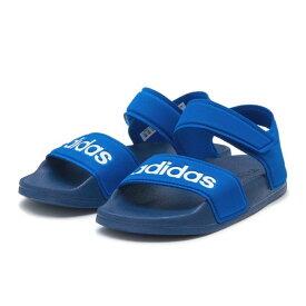 キッズ 【adidas】アディダス adilette sandal k (17-21) アディレッタ サンダル EG2133 BLU/WHT/BLU