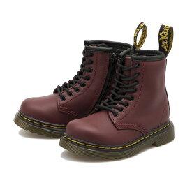 キッズ 【Dr.Martens】 ドクターマーチン キッズ ブーツ 1460 TODDLER BOOT (13.5-16.5) ブルックリー 8ホールブーツ 15373001 CHERRY RED