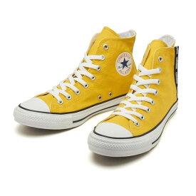 【CONVERSE】 コンバース スニーカー ALL STAR LOGOFLAPZIP HI オールスター ロゴフラップジップ ハイ 31302610 MUSTARD