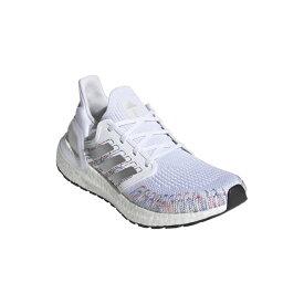 レディース【adidas】アディダス ultraboost 20 w ウルトラブースト EG0728 WHT/BLK/GRN