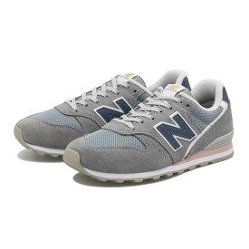 レディース【NEW BALANCE】 ニューバランス WL996WS(D) ABC-MART限定 *GRAY/NAVY(WS)