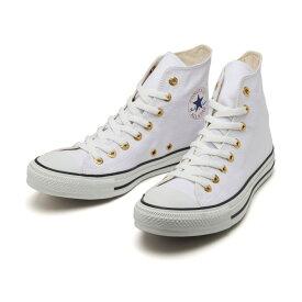 【CONVERSE】 コンバース ALL STAR FLATEYELETS HI オールスター フラットアイレッツ ハイ 31302591 WHITE