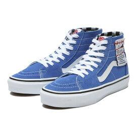 【VANS】SK8-HI TAPERED ヴァンズ スケートハイテーパード VN0A4U1624E (DIY)BLUE/WHT