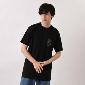 【VANSウェア】 AVE SS ヴァンズ ショートスリーブTシャツ VN0A49NWATH BLACK