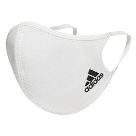 【adidas】 アディダス Face cover Adult(PF) フェイスカバー 3枚組 H34578 WHITE