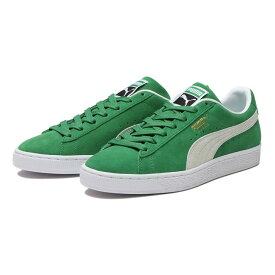 【PUMA】 プーマ SUEDE TEAMS スウェード チームス 380168 02A.GREEN/WH