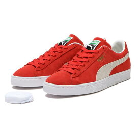 【PUMA】 プーマ SUEDE CLASSIC XXI スウェード クラシック XXI 374915 02H.RED/WH