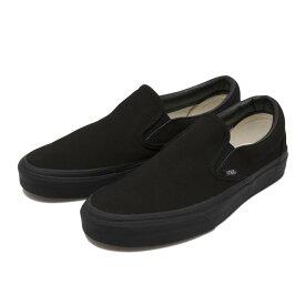 【VANS】 ヴァンズ CLASSIC SLIP-ON* クラシックスリッポン VN000EYEBKA BLACK/BLACK