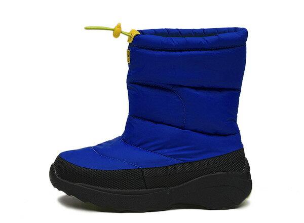 キッズ 【HAWKINS】 ホーキンス スノーブーツタイプ 冬靴 SNOW BOOTS HK51089 F14 BLUE