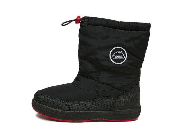 キッズ 【VANS】 ヴァンズ スノーブーツタイプ 冬靴 BAKER V8220K F14 N/BLACK