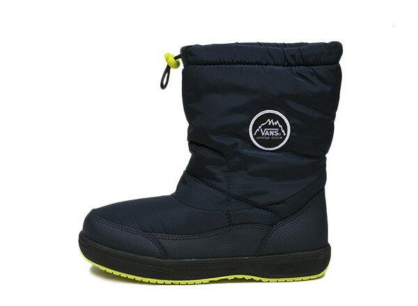 キッズ 【VANS】 ヴァンズ スノーブーツタイプ 冬靴 BAKER V8220K F14 N/NAVY