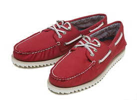 【SPERRY TOP-SIDER】 スペリー トップサイダー RAZOR FISH レイザーフィッシュ STS11475 WASHED RED