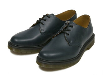 博士马丁1461 DMS 84 GIBSON SHOE 10078410 15SP NAVY SMOOTH