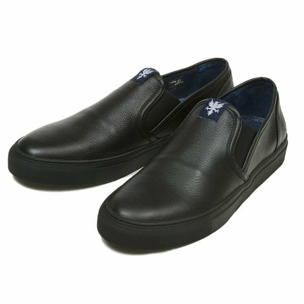 【OVERSTATE】 SLIP-ON 302 15SP BLACK