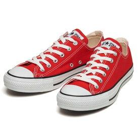 【converse】 コンバース オールスター OX ALL STAR OX RED