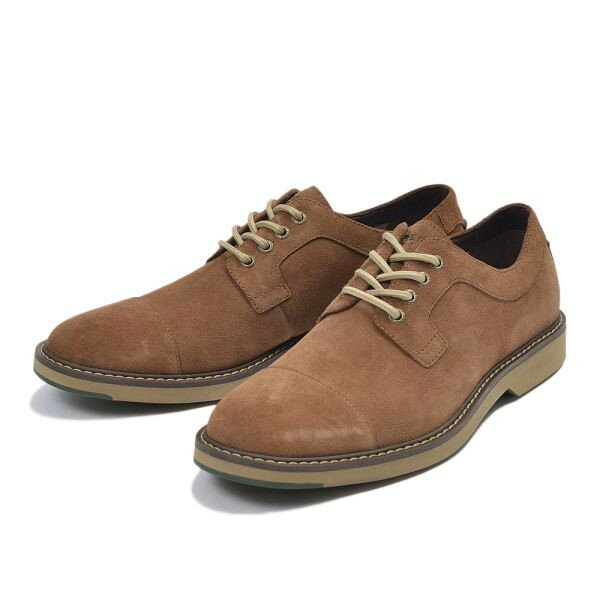 【SPERRY TOPSIDER】 スペリートップサイダー COMMANDER CAP TOE SUEDE コマンダー キャップトゥ スエード STS13031 TAN