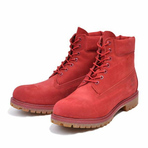 6インチキャンペーン 【Timberland】 ティンバーランド 6 IN PREMIUM BOOT - MONO 6インチ プレミアム ブーツ モノクロマティック A1149 15FA RED