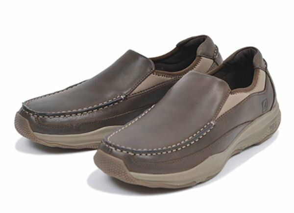 【SPERRY TOPSIDER】 スペリートップサイダー VOYAGER GORE S/O ボイジャー ゴアスリッポン STS13301 ESPRESSO