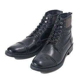 【STEFANO ROSSI】 ステファノロッシ ストレート チップ ブーツ S-TIP BOOT SR03243 NERO