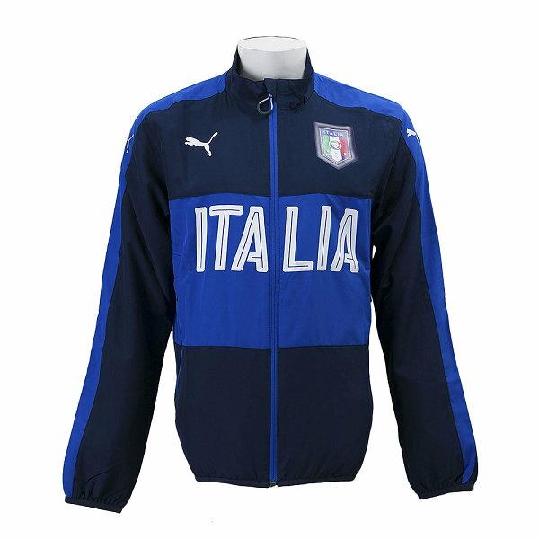 【エントリーで全品5倍】【PUMAウェア】 プーマ 2016 FIGC イタリア ウーブンジャケット 749394-05 WSP 05PEACOAT/TEAM