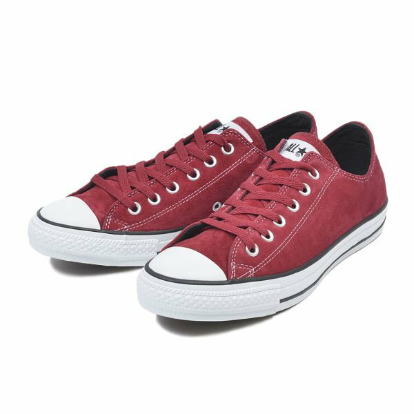 【CONVERSE】 コンバース SUEDE ALL STAR WV(A)OX スエード オールスター WV(A)OX 32158192 RED