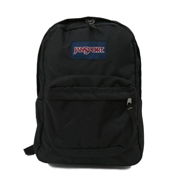 【JANSPORT】 ジャンスポーツ バックパック SUPERBREAK スーパーブレイク #T501008 BLACK
