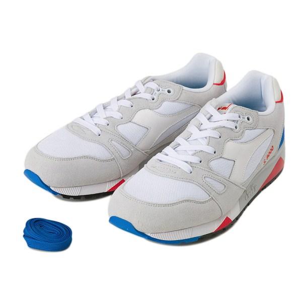 【DIADORA】 ディアドラ S8000 NYL ITA 170470 White/M Blue