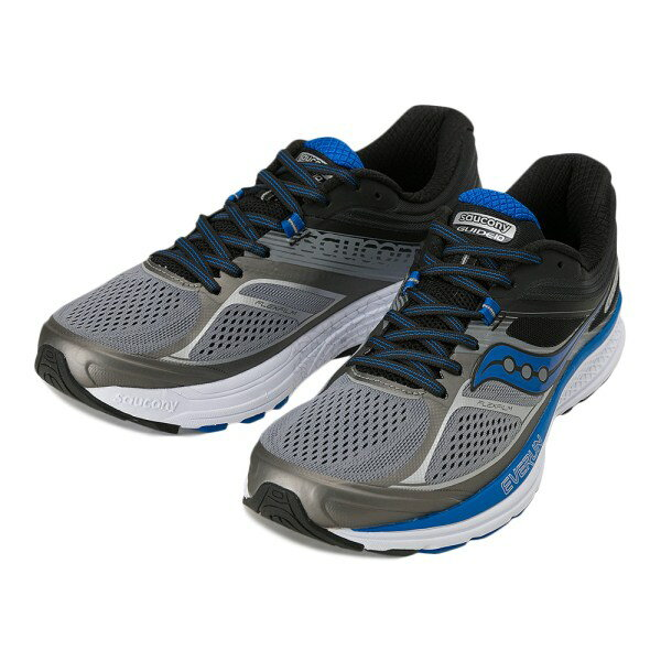 【SAUCONY】 サッカニー GUIDE 10 ガイド10 S20350-1 GRY/BLK/BLU