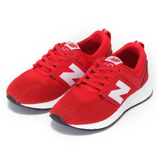 キッズ 【NEW BALANCE】 ニューバランス 17-21KA247 17SS RED(CCP)