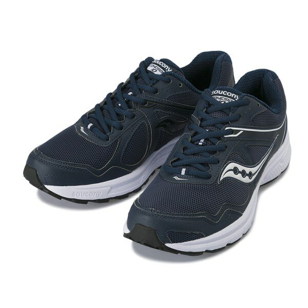 【SAUCONY】 サッカニー COHESION 10 WIDE コヘイジョン 10 S25343-17 NAVY/WHITE