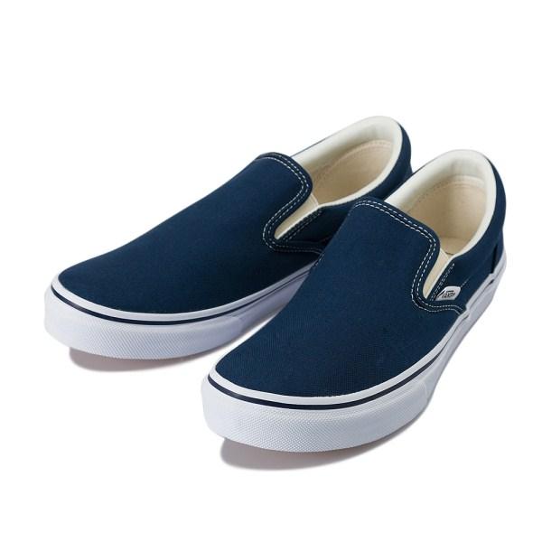 【VANS】 ヴァンズ SLIP ON スリッポン V98CLA 17FA DRESS BLUE