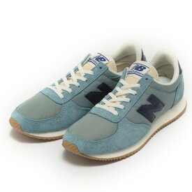 レディース 【NEW BALANCE】 ニューバランス WL220OG(D) LIGHT BL/NV(OG)