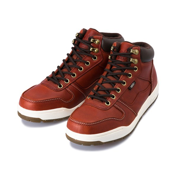 【VANS】 ヴァンズ WORKER BEE V2552SNOW 冬靴 FG/RED BROWN