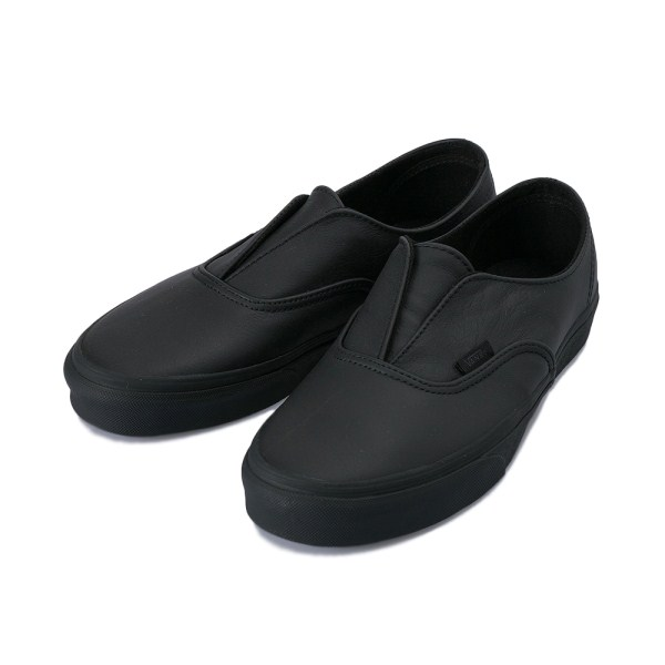 【VANS】 ヴァンズ AUTHENTIC GORE DX オーセンティック ゴア DX VN0A3DPGL3A 17FA (LEATHER) BLACK