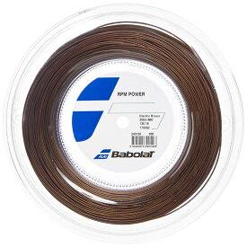 【4%オフクーポン1/28まで】バボラ RPM パワー 1.25/1.30mm 200m ロール(243139) Babolat RPM POWER テニスガット ストリング