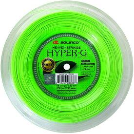 ソリンコ ハイパーG ソフト 1.15/1.20/1.25/1.30mm 200m ロール SOLINCO HYPER-G SOFT テニスガット ストリング