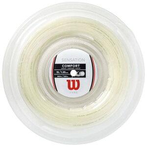 【5と0のつく日は5%クーポン】ウィルソン センセーション 200m ロール 硬式テニス ガット ストリング
