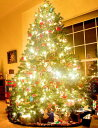 クリスマスツリー 365cm LED1200球 (屋内用)