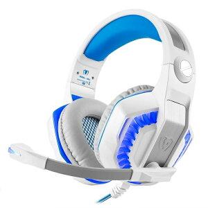 Micolindun GM-20 ゲーミングヘッドセット PS4 ヘッドセット ヘッドホン マイク付き プレステ4 ゲーム用 ゲーミング PC ヘッドフォン イヤホン LED Skype Beexcellent PC スカイプ 密閉型 スイッチ fps COD モ