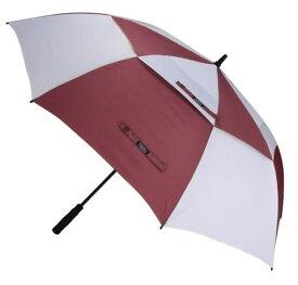 長傘 耐風 超大 自動開き 通気スリット 超撥水 UVカット Teflon加工ダブルキャノピー 高強度グラスファイバー G4Free ゴルフ傘 長傘 ワンタッチ 自動開け大きな傘 100cm 梅雨対策 台風対応 ビジネス用 メンズ(ワインレッド)