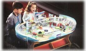 KidKraft ディズニー カーズ レーストラック&テーブルセット パーツ:75個 キッドクラフト社 組立後:120x80x64(H)cm